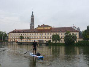 Ankunft in Landshut