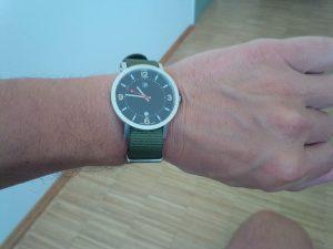 Danke Philipp für die Uhr von Schätzle & Cie
