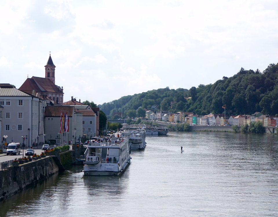Ankunft in Passau